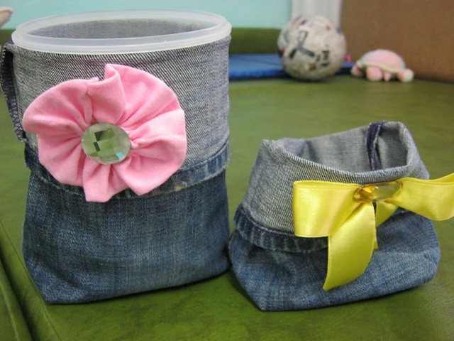 Cup warmer Jeans-made