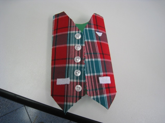 Father's Day Waist Coat Card